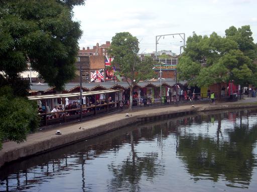 Camden canal market 2009