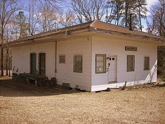 Cameron, North Carolina - Former rail depot in Cameron