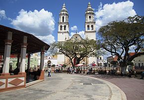 Campeche Plaza Principal.JPG