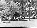 Camping Ground at Mount Gambier Showing Tent and People Sitting Near Automobile(GN08477).jpg
