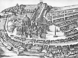 Collegio Teutonico - The college in 1593