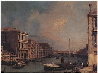 Grand Canal looking East from the Campo S. Vio