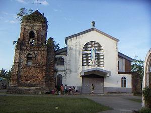 Canaman, Camarines Sur - Image: Canaman Church 002