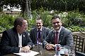 Canciller del Ecuador se reúne con el Presidente de la Asamblea General de la ONU (8963066624).jpg