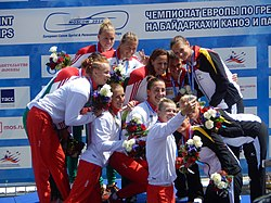Canoe Moscow 2016 - After VC - K4 Women 500m.jpg