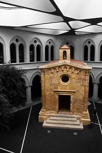 File:Capella de Sant Pau al claustre del seminari de Tarragona.jpg