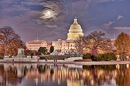 A photo of the capitol building