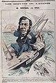Caricature d'Émile-Justin Menier en député, entouré de ses ouvrage.jpg