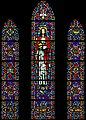 Carl Huneke's stained glass window - I Am The Light of the World - Compass Church, Salinas CA.jpg