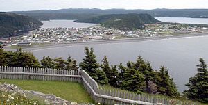 Placentia, Newfoundland and Labrador - Panorama of Placentia