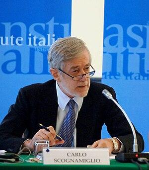 Carlo Scognamiglio - Scognamiglio at an Aspen Institute Conference, 2008