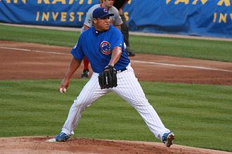Carlos Zambrano - Zambrano with the Chicago Cubs