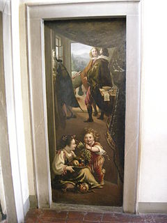 Luigi Baccio del Bianco Italian painter