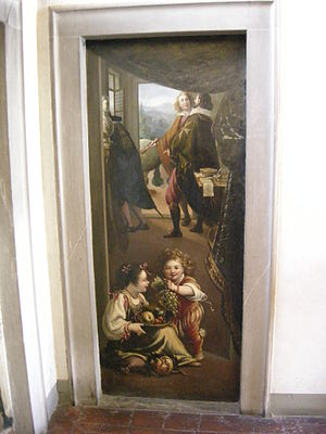 Luigi Baccio del Bianco - Fresco from Casa Buonarroti by Luigi Baccio del Bianco