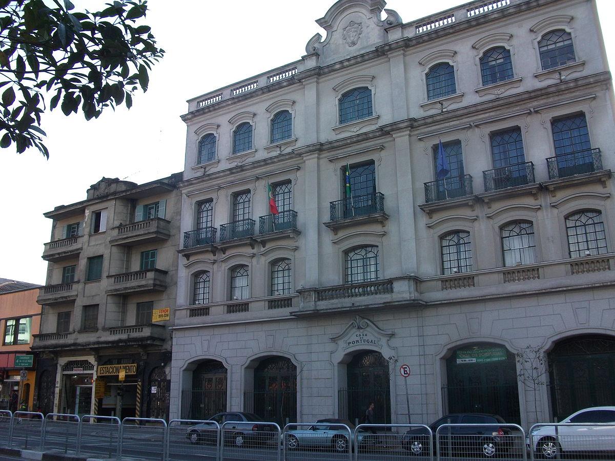 Casa De Portugal In S 227 O Paulo Wikipedia