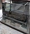 Casa dei vettii, vestibolo, primo atrio, cassaforte in ferro e bronzo.jpg