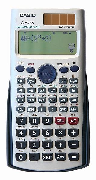 لبعض دروس الاحصاء مستوى اداب 318px-Casio_fx-991ES