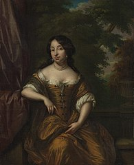 Portrait of Anna Maria Hoeufft 91646-1715), wife of Jan Boudaen Courten