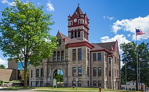 Cass County Courthouse in Cassopolis