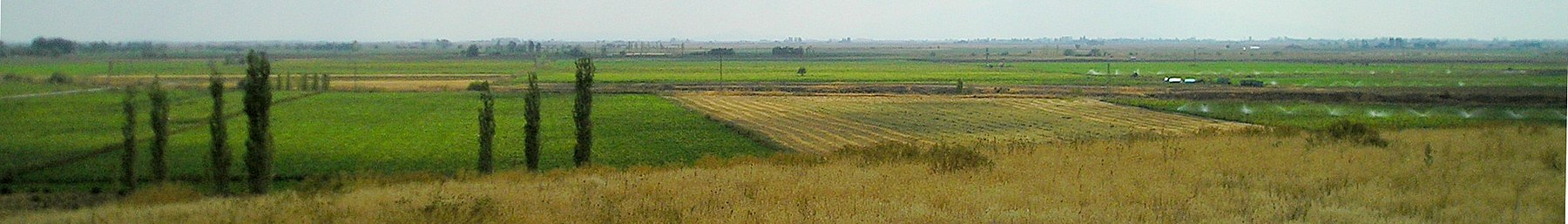 The fertile steppes around Çatalhöyük, which gave rise to one of the earliest sedentary communities of the humankind