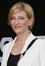 Photo of Cate Blanchett in February 2012.