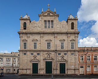 Mannerist Cathedral Basilica of Salvador, the Primate of Brazil (1657-1746 ) Catedral Basilica Salvador 2019-6527.jpg