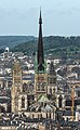Cathédrale Notre-Dame de Rouen, South-West View from Mont Gargan 140215 4b.jpg