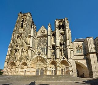 Bourges Cathedral Cathedral in Bourges, Cher, France