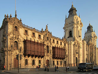 Roman Catholic Archdiocese of Lima - Cathedral Basilica of St. John the Apostle and Evangelist