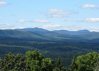 Soyuzivka - A view of the Catskill Mountains from Soyuzivka Ukrainian Resort in Kerhonkson.