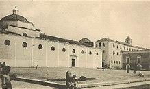 Cattedrale di Manfredonia (lato piazza del Duomo, primi del '900)