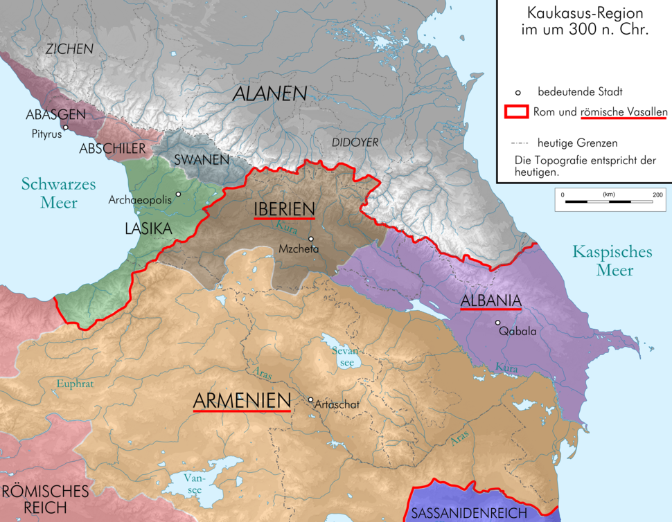 Caucasus 300 map alt de