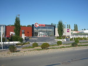Intermarché - An Intermarché supermarket in France.