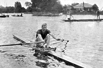 Cecil McVilly - Cecil McVilly in England in 1912