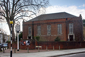 Vaughan Williams Memorial Library - Cecil Sharp House in Regent's Park, London, home to the English Folk Dance and Song Society