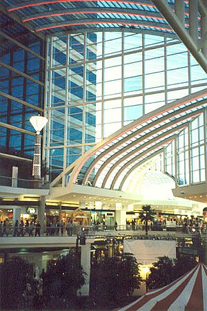Riverchase Galleria - Image: Center Court of the Riverchase Galleria