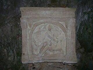 Duino Mithraeum Mithraeum in Duino,Italy