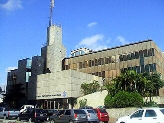 São Paulo Metro - Operational control center of the São Paulo metro.