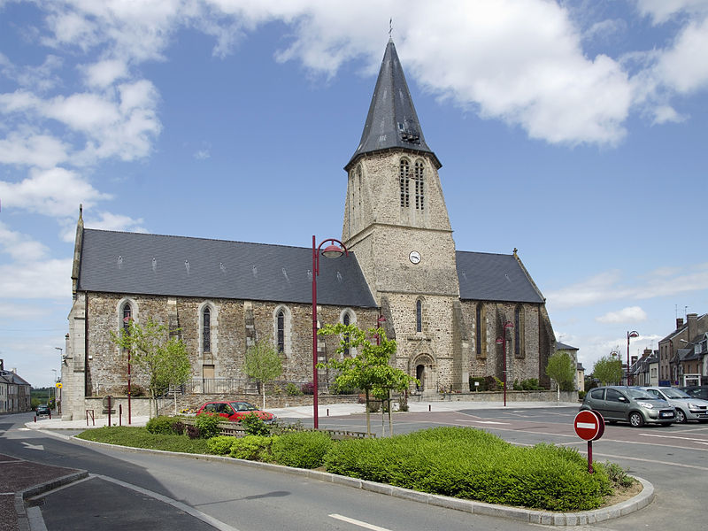 Notre-Dame church -  Cérences, Manche, France