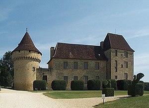 Saint-Léon-sur-Vézère - Image: Château de Chabans 2004