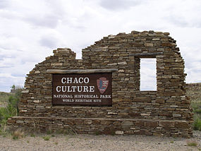 Chaco Culture National Historical Park Entrance.jpg