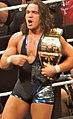 Chad Gable NXT tag team champion Takeover Dallas 2016.jpg