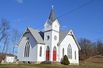 National Register of Historic Places listings in Coshocton County, Ohio - Image: Chalfant Church