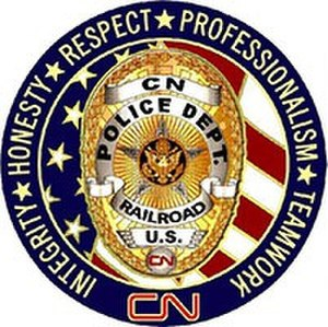 CN Police - Challenge coin for American officers
