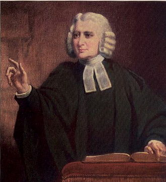 William Gush - Image: Charles Wesley preaching