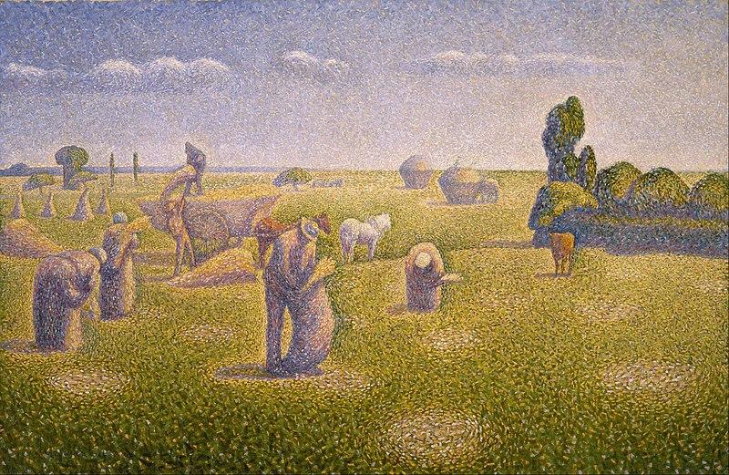 Oil Painting Horizon