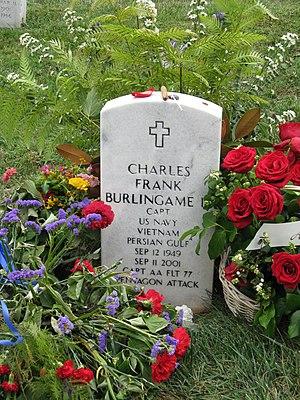 Charles Burlingame - Gravestone of Burlingame