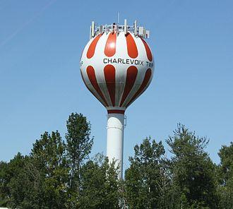 Charlevoix Township, Michigan - Water tower