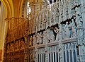 Chartres Cathédrale Notre-Dame de Chartres Innen Chorschranke 02.jpg