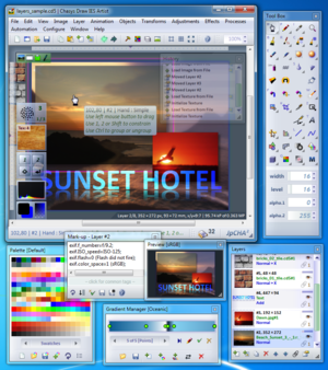 Chasys Draw IES - Image: Chasys Draw IES screenshot, version 3.76.04, chasys draw ies screenshot